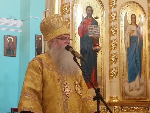 Проповедь митрополита Константина в Неделю 19 ю по Пятидесятнице на евангельскую тему Притча о сеяте