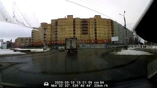 Разбитые дороги Северодвинска. Морской - Юбилейная
