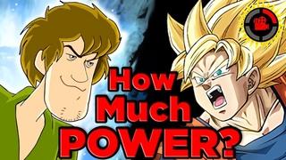 Film Theory What is Ultra Shaggy's TRUE Power Level (Scooby Doo x Dragon Ball Z meme)