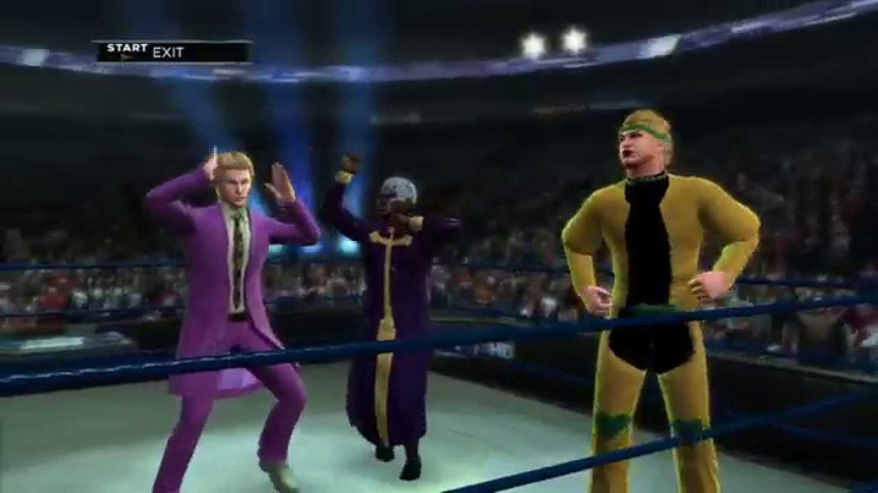 WWE 2k13 - Team DIO/Kira/Pucci (JoJo's Bizarre Adventure)