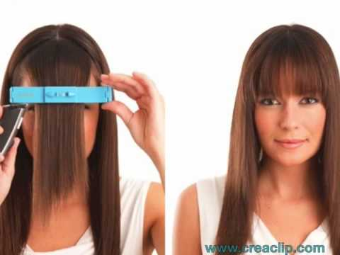 How to cut your hair at home Before After pics of Bangs Layers and Children's hair