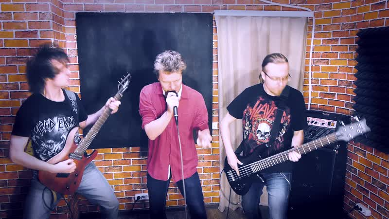 Iced Earth - The Hunter (Vocal, Guitar and Bass cover, Live in studio)