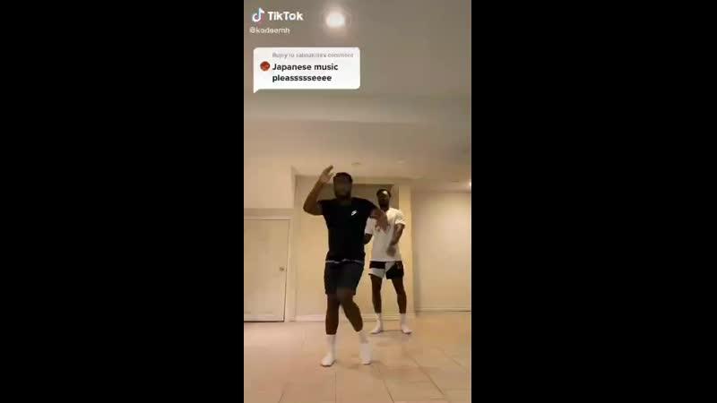 танец нег афроамериканцев