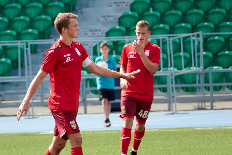 Егор Поздняков в матче за молодежный состав