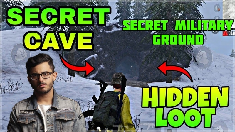 CARRYMINATI DISCOVERS SECRET MILITARY CAVE IN PUBG DOREMON SONG CARRYISLIVE PUBG PC HIGHLIGHTS