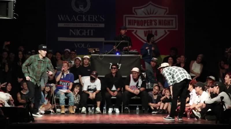 5000 vs. GV - Solo Quarter final @Hiphoper`s night vol.4