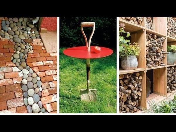 Креативнее идеи для двора сада и дачного участка