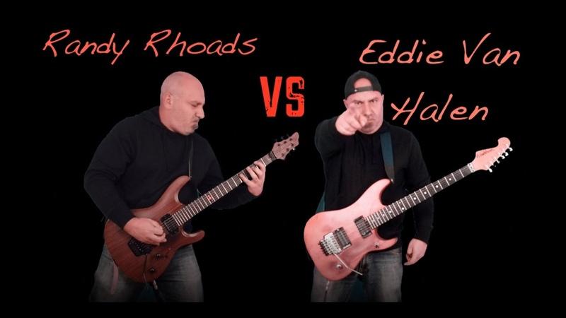 Randy Rhoads VS Eddie Van Halen (Guitar Riffs Solo Battle)