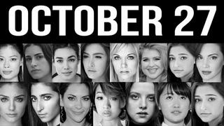 October 27 Famous Women BirthDays Celebrities