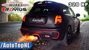 320HP MINI JCW | DECAT STRAIGHT PIPE | FLAMES SOUND by AutoTopNL