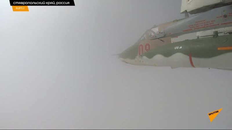 Грачи обманули ПВО и разбомбили аэродром условного противника