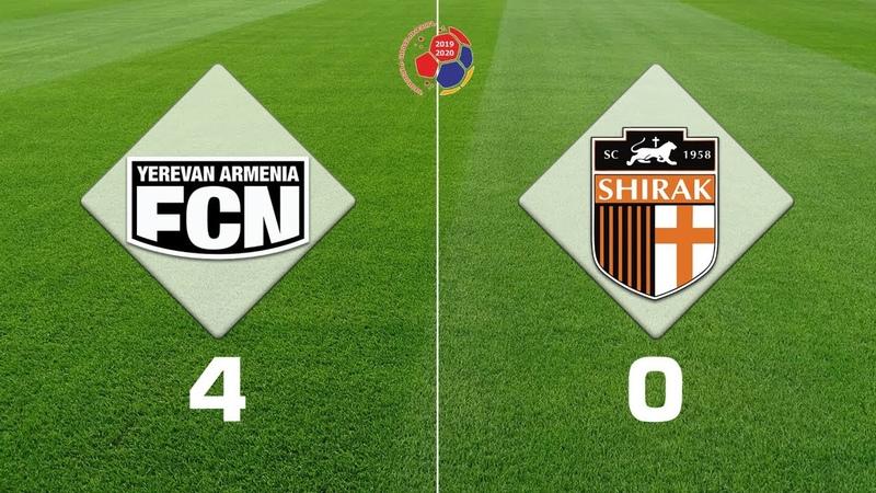 Noah Shirak 4 0 Armenian Premier League 2019 20 Week 27