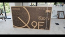75 Q9 QE75Q9FN Unboxing and No-Gap Wall Mount install