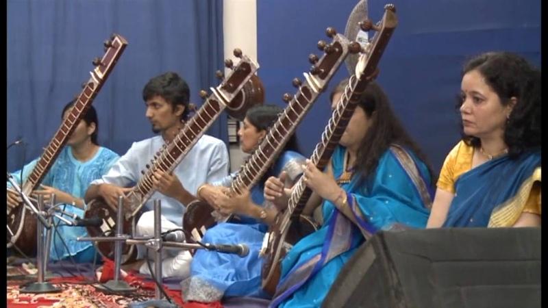 Laga chunari mein Daag along with a composition in raag Bhairavi on Sitar