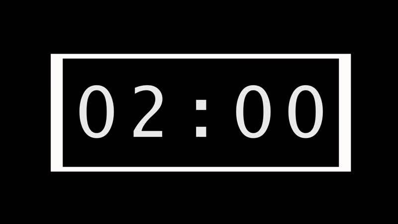 Countdown Timer 3 Minute 58 sec Saint Jhn Roses Imanbek Remix