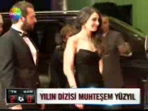 Tv Ödülleri Show Ana Haber Okan Yalabık Meryem Uzerli