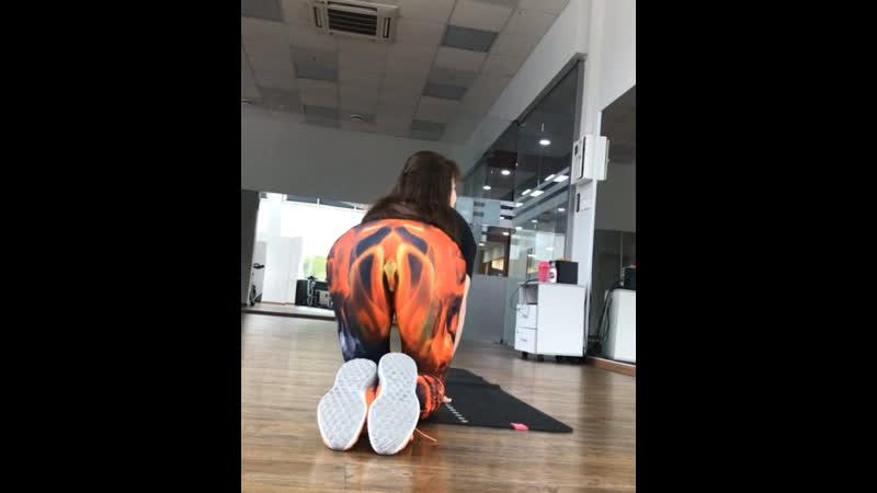 Так меня видит мой тренер @mariya schastlivtseva А я начинала делать упражнение экстензия