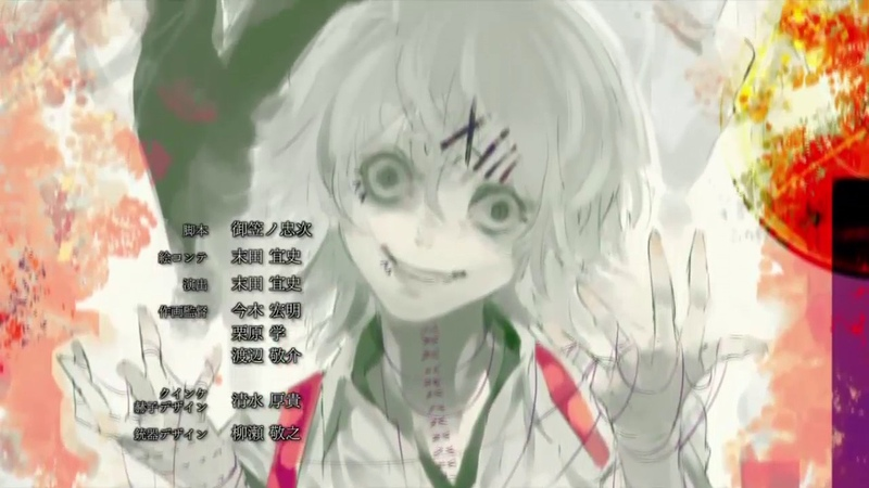 Tokyo Ghoul √A ED 1 12 Seasons Die One After Another