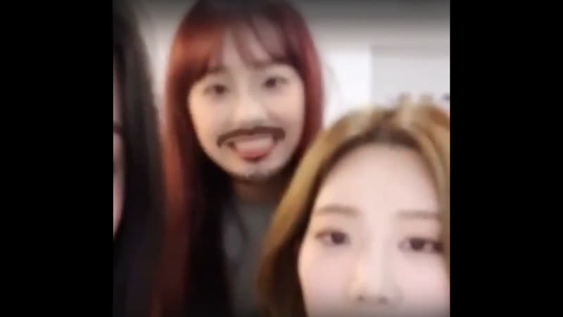 Chaotic loona vlive...