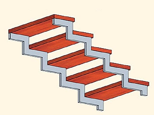 Лестница из профильной трубы своими руками: чертежи и пошаговый монтаж, изображение №17
