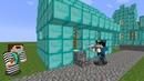 Преступник ограбил алмазную деревню в Майнкрафт! Деревня - Копы и преступники Нуб minecraft нубик