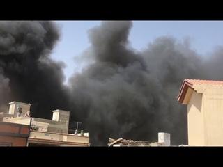 Exclusive footage of PIA plane crash in Karachi