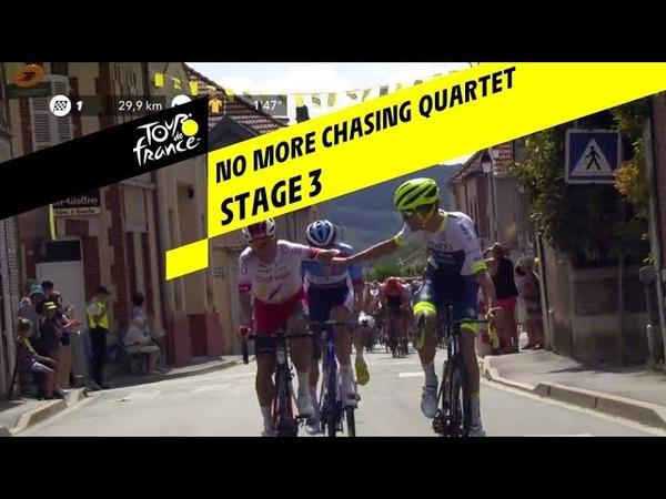Les échappés repris Étape 3 Tour de France 2019