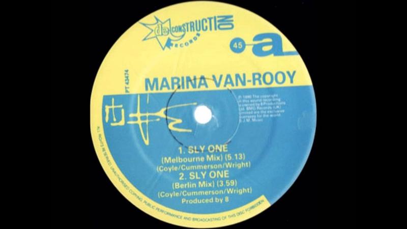 Marina Van Rooy Sly One Pickering Park Mix