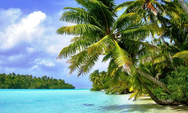 Остров Обои На Рабочий
