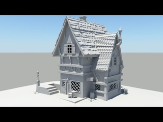 Autodesk Maya 2014 Tutorial Old House Modeling Part 9