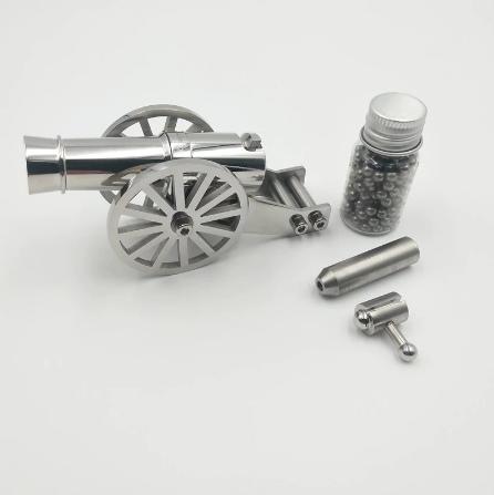 Мини-пушка из нержавеющей стали