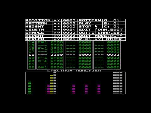 Sound Tracker: US - DMS (Gomel) [zx spectrum AY Music Demo]