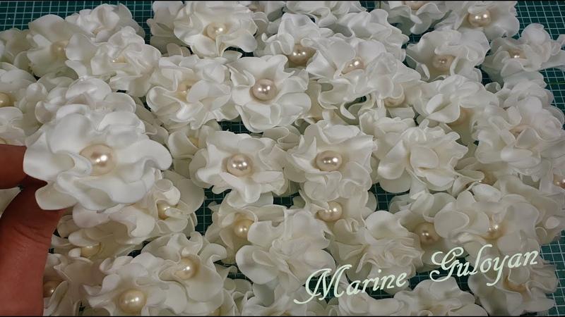 Цветы для свадебного декора переделка Flowers for wedding decor alteration Marine DIY Guloyan