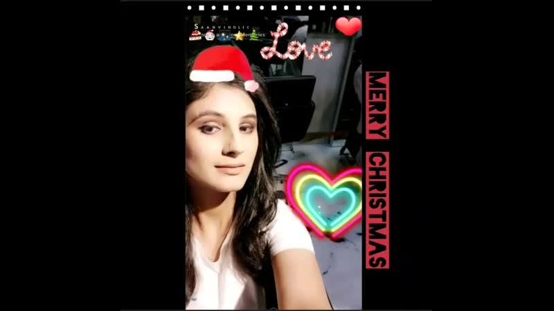 Christmas Sanvi Talwar