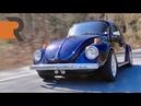 Дрэговый Volkswagen Super Beetle 1974-го. Автобанная гонка, найденная в сарае BMIRussian