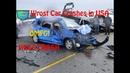 WROST CAR CRASHES USA 2019 DASH CAM COMPILATION CAR CRASH COMPILATION