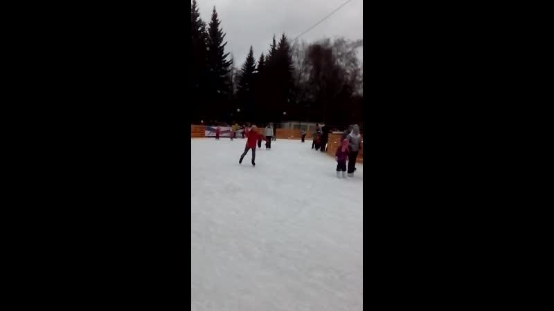 Первый круг декабрь 2019г. на катке в Химках
