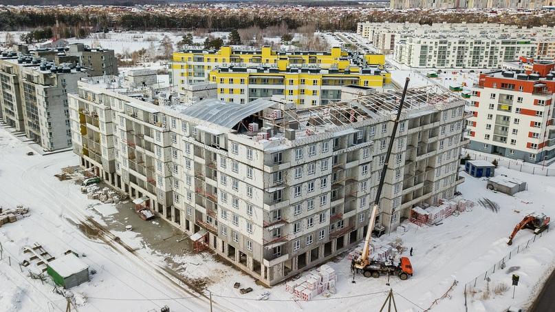 Отчет о ходе строительства март 2020. ЖК «Апрель», изображение №4