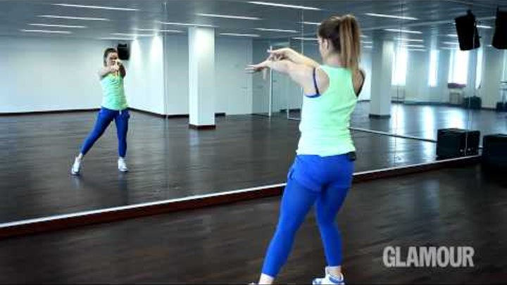 Урок стрип пластики: Танцевальная связка 2