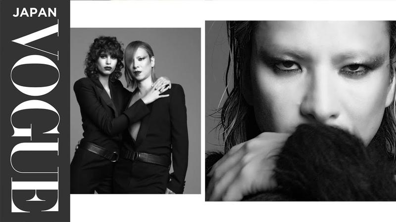 ロックスターのYOSHIKIが『VOGUE JAPAN』10月号の表紙に初登場! イットモデルのミカ