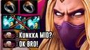 SumiYa Invoker God Kunkka Mid OK Bro Dota 2 Highlights TV