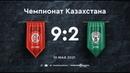 Кайрат 92 Атырау Плей-офф Чемпионата Казахстана 20/21 10.05.21 Игра престолов
