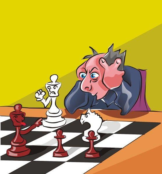 посадками шахматы картинки комичные она
