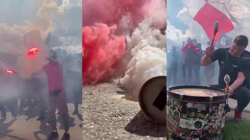 Supporters Group в Тарасовке Конец карантина шизим на базе Спартака напутствие игрокам