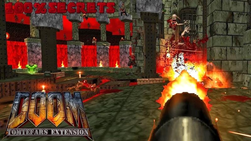 BRUTAL DOOM v21 TOMTEFAR'S Edition HellScape in Hell 100% SECRETS