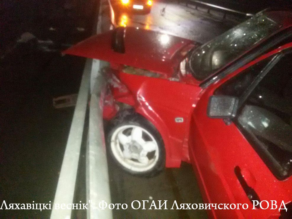 Разгулялся... Нетрезвый водитель в Ляховичах спровоцировал три ДТП