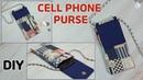 DIY CELL PHONE PURSE BAG/ PHONE POUCH BAG/ Mini Cross body Bag /sewing tutorial Tendersmile