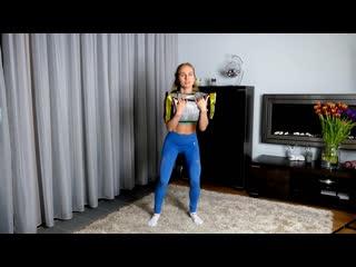 Моя домашняя фитнес-тренировка на все тело