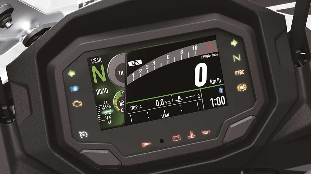 Новый мотоцикл Kawasaki Ninja 1000SX 2020