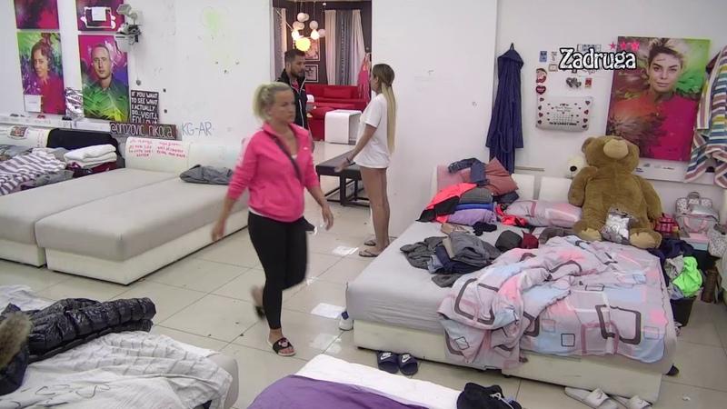 Zadruga 3 - Žestoka svađa Lune i Marka zbog Anabele, trese se Bela kuća - 12.04.2020.